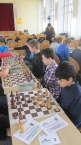 Die Mannschaft beim ersten Wettkampf