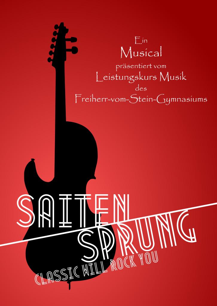 Plakat Musical LK Mu 2015