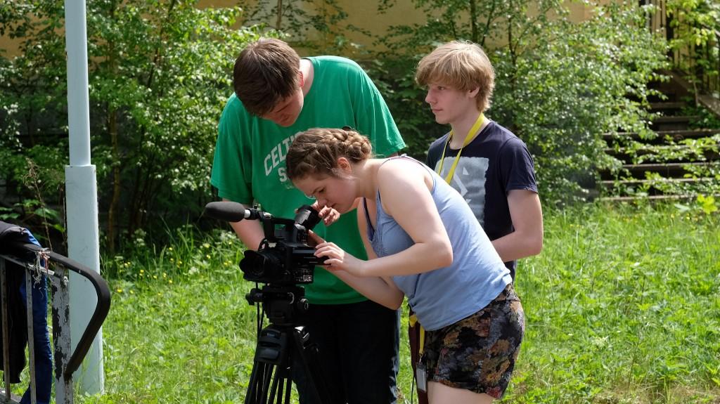 ... und anschließend in unterschiedlichen Kameraeinstellungen ausprobiert.