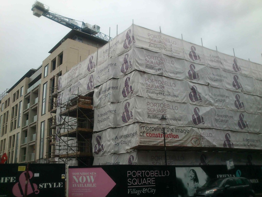 If you can ever afford living in one of these newly built town houses, you must be really wealthy.