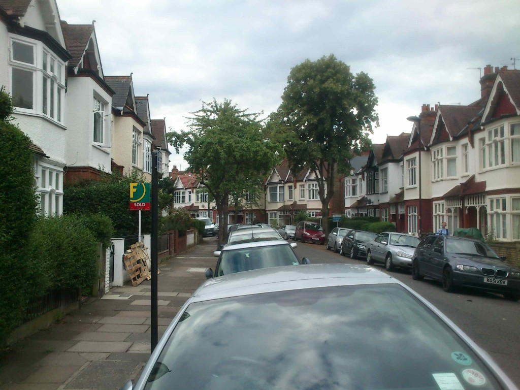 Streatham - The district where our hotel was located - would you believe it's actually London?
