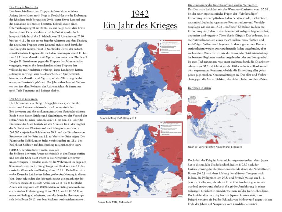 1942 Jahreschronik - Felix Schesler - Nikolai - Dorian_Seite_1