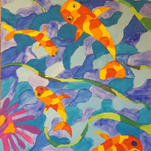 Warme Fische, kühle Meere! Farbkontraste 4