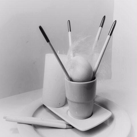 Lichtführung im FOTOgrafischen STILLLEBEN - Komposition in Weiß 4