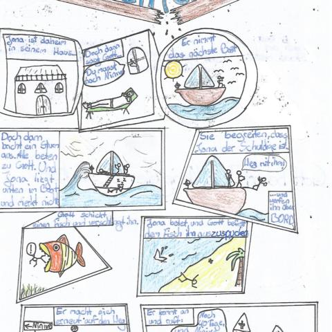 Das Buch Jona als Bilbelcomic - 0001