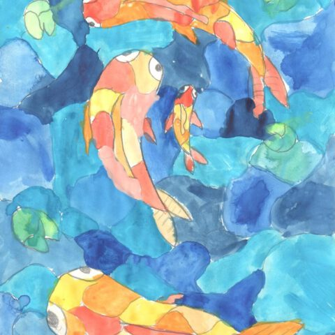 Warme Fische, kühle Meere! Farbkontraste 3