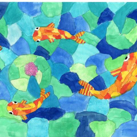 Warme Fische, kühle Meere! Farbkontraste 2
